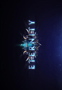 Mu Eternity PSD Game Logo Template